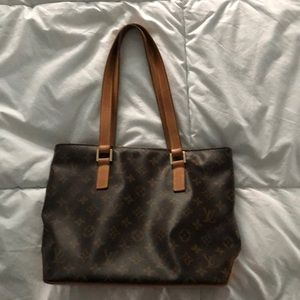Authentic LV Cabas Piano Tote Pre-loved